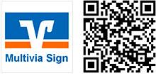 QR-Code App Multivia Sign für iOS